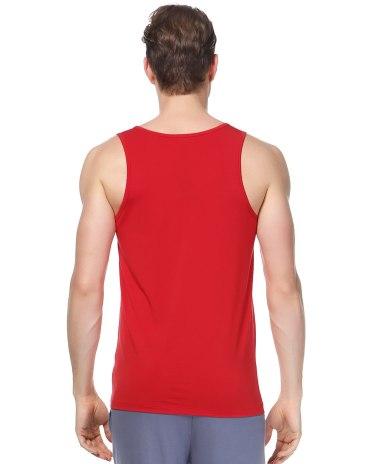 Red Men's Vest