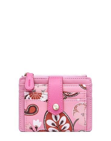 Розовая женская Карточницы