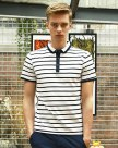 White Stripes Short Sleeve Standard Men's T-Shirt