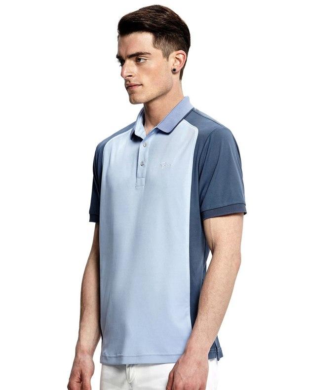 Blue Short Sleeve Standard Men's T-Shirt