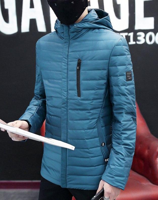 Long Sleeve Standard Men's Down Coat