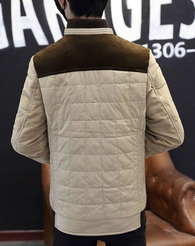 Baseball collar Standard Men's Down Coat