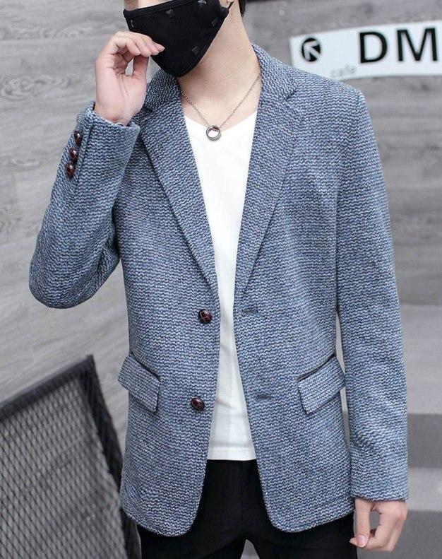 Long Sleeve Standard Men's Outerwear