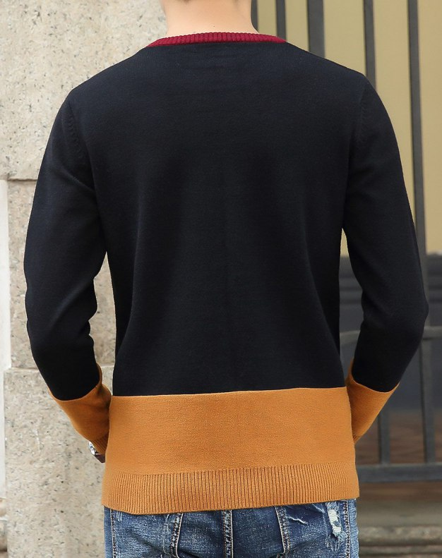 Long Sleeve Standard Men's Knitwear