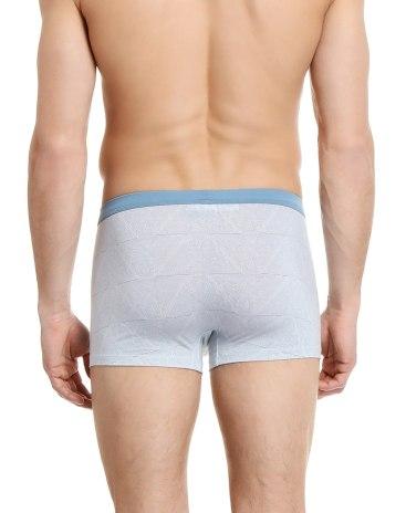 Blue Modal Seamless Men's Underwear