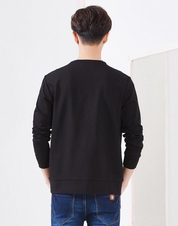 Black Men's Hoodies & Sweatshirt