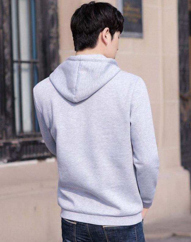 Long Sleeve Standard Men's Hoodies & Sweatshirt