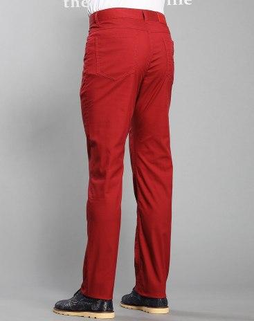 Red Men's Pants