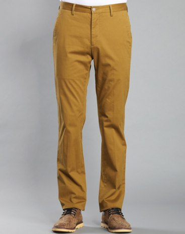 Light Elastic Long Men's Pants