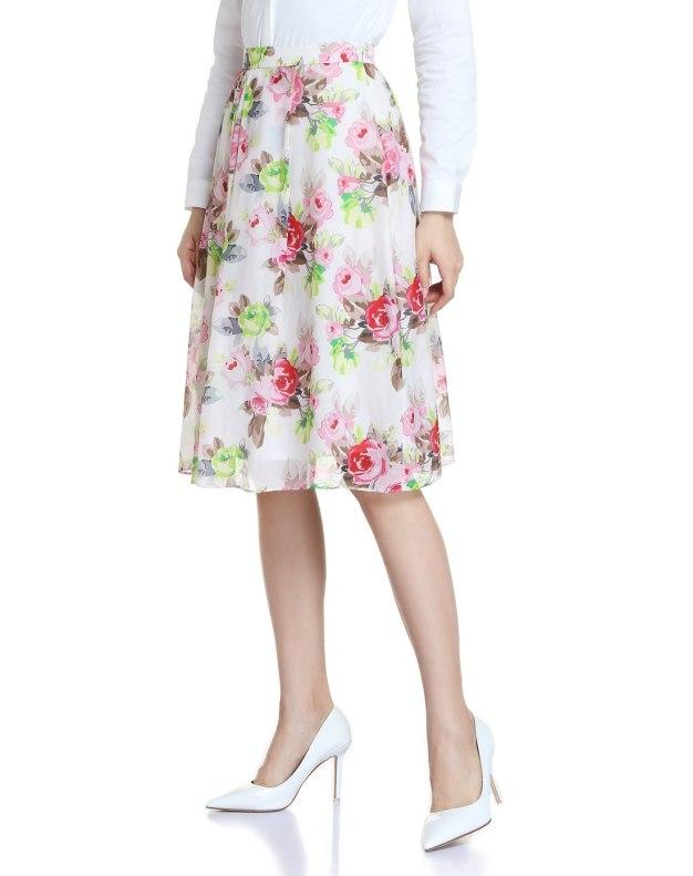 White Women's Skirt