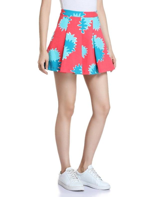 Red Women's Skirt