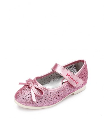Pink Girls' Leather Shoes