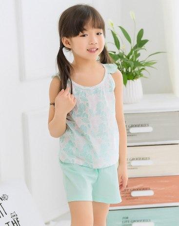 Green Girls' Loungewear