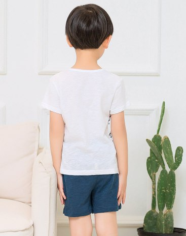 White Boys' Loungewear