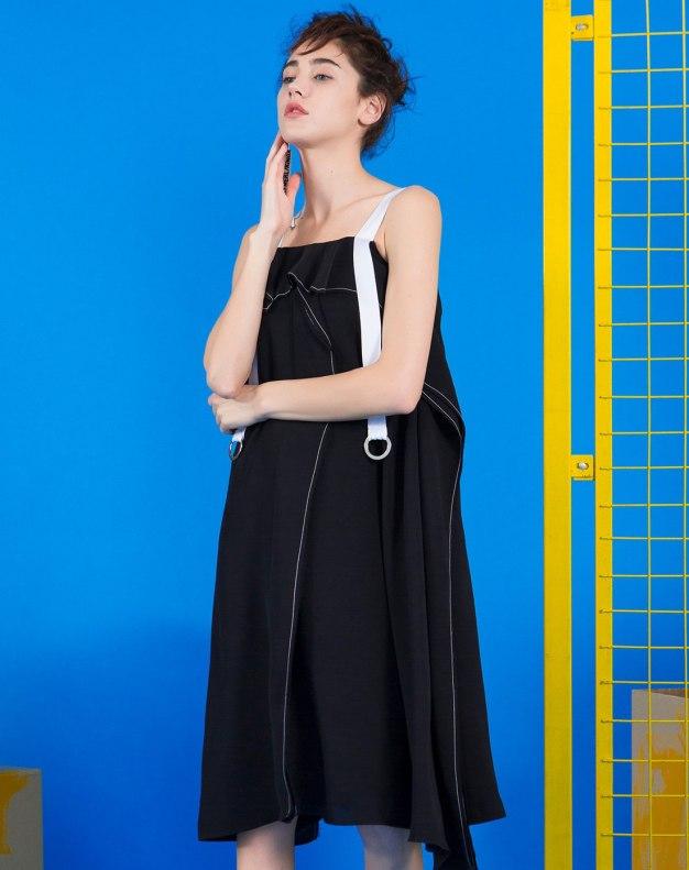 블랙 기타 여성 드레스