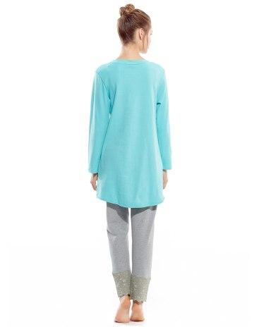 Cotton Long Sleeve Standard Women's Loungewear