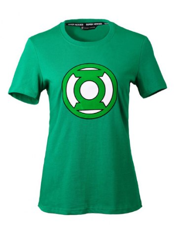 Green Round Neck Short Sleeve Loose Women's T-Shirt