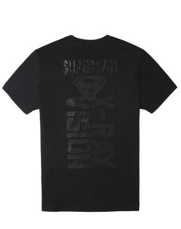 Black Short Sleeve Loose Round Neck Men's T-Shirt