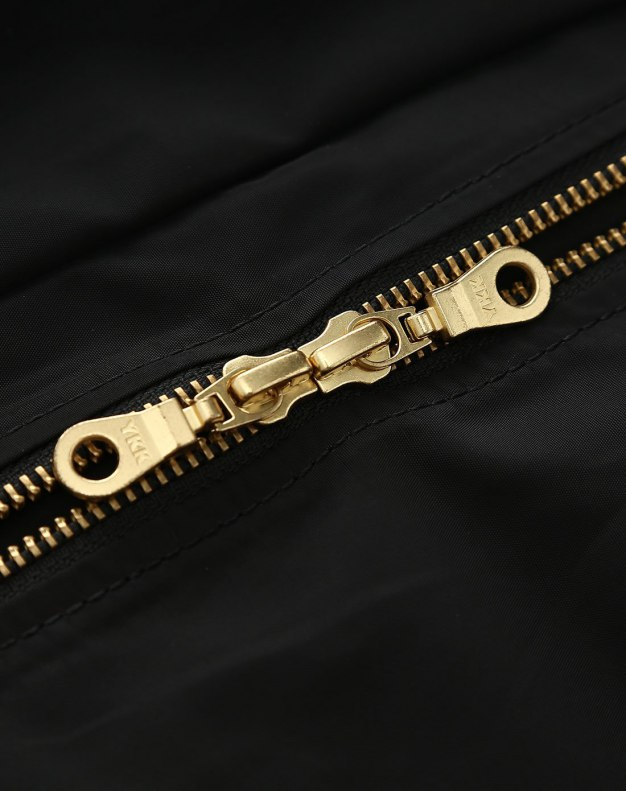 Black Long Sleeve Women's Windbreaker
