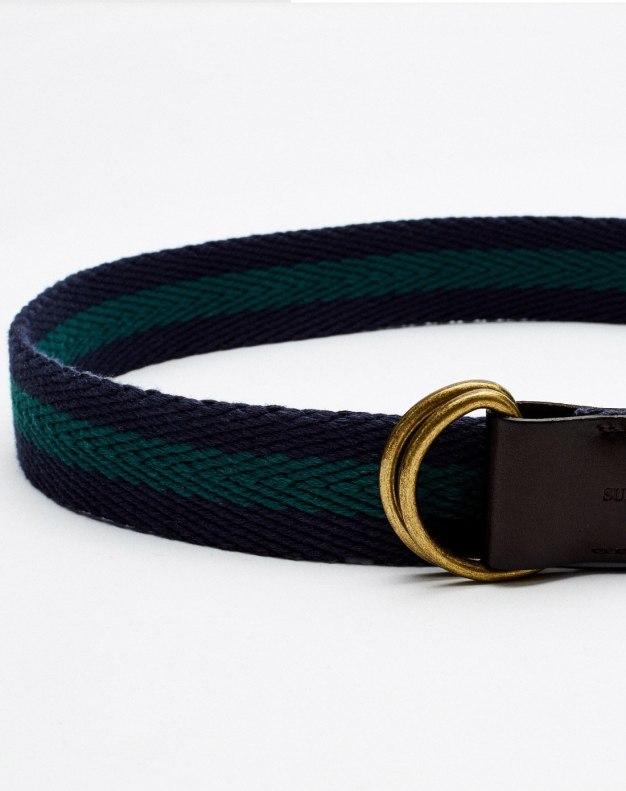 Soft Canvas Men's Belt