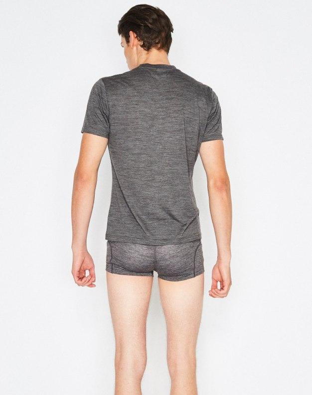 Gray Antibiosis Men's Underwear