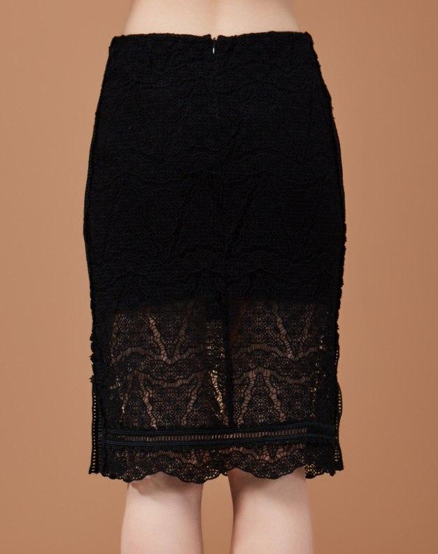 블랙 짧은 치마 여성 랩스커트 스커트