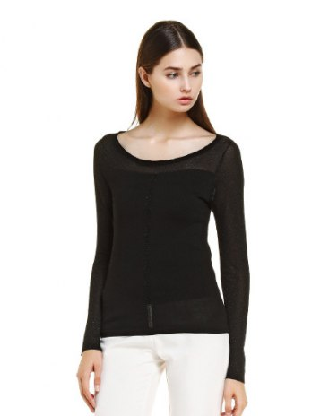 Black Women's Knitwear