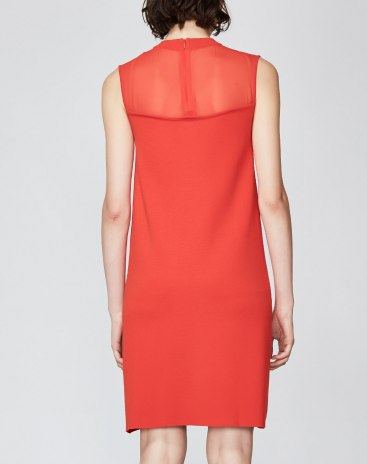 Round Neck Sleeveless 3/4 Length Women's Dress