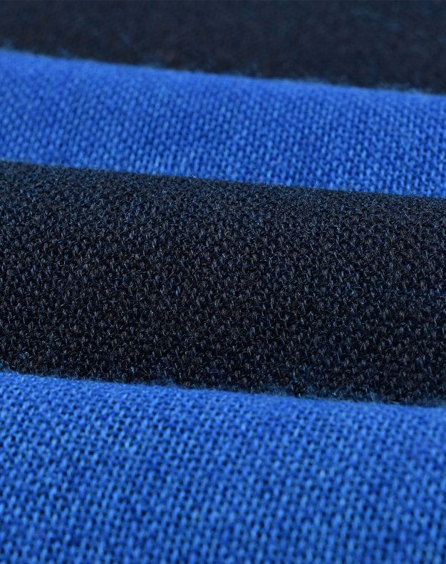 Blue Lamb Wool Scarf
