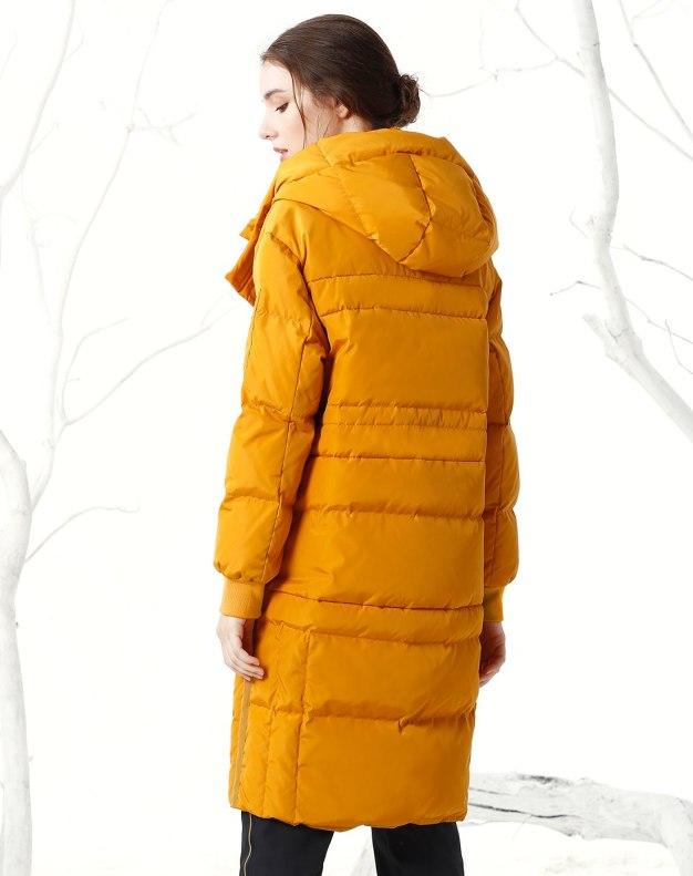 Yellow Warm Women's Down Jacket