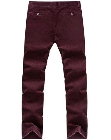 Red  Long Men's  Pants