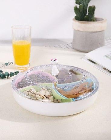 Plastic Dried Fruit Plate Baskets