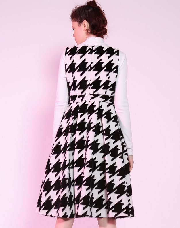 Others1 민소매 A라인 여성 드레스
