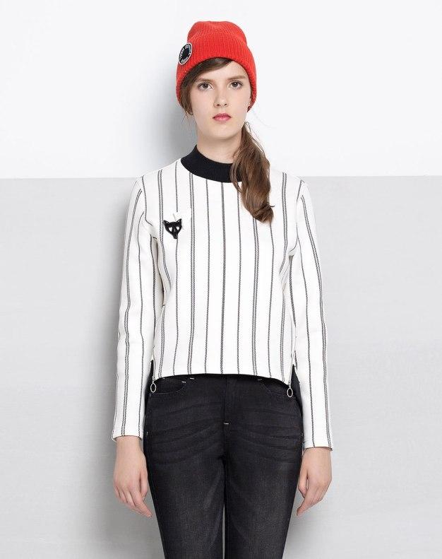 Round Neck Long Sleeve Women's Sweatshirt