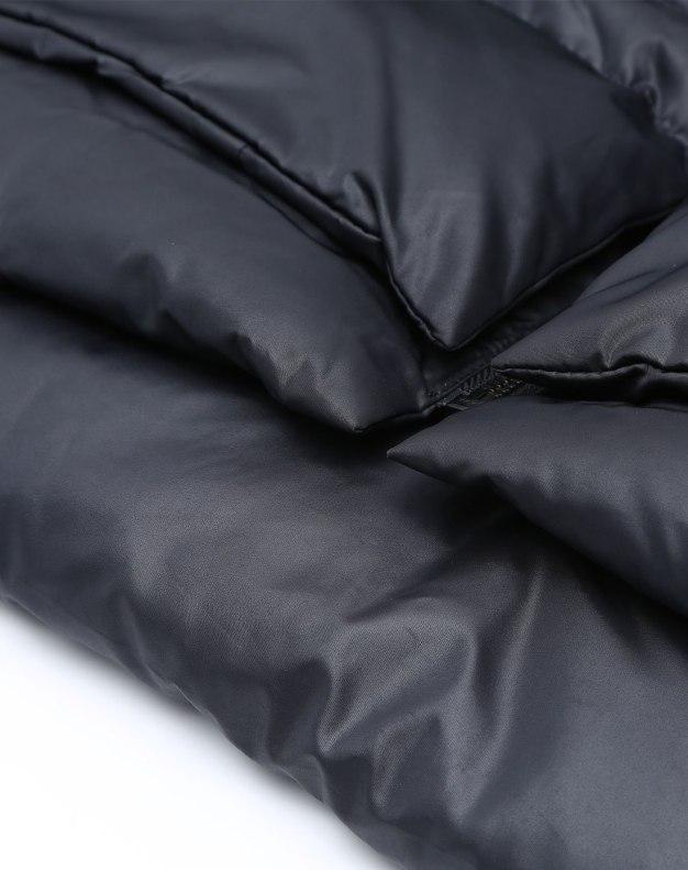 Black Lapel Women's Down Jacket