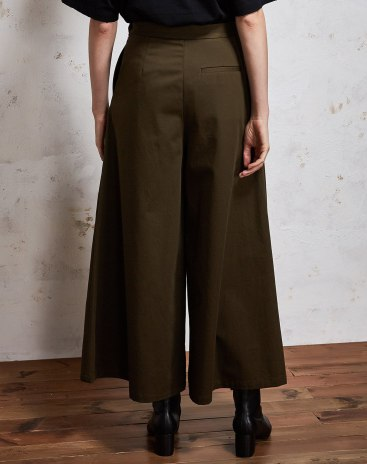 High Waist Cropped Women's Pants