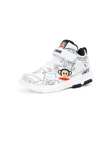 High Top Round Head Boys' Athletic Shoes