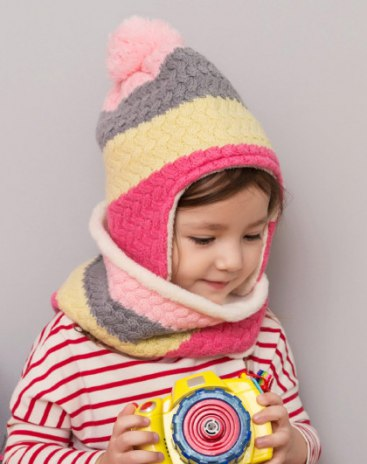 Pink Girls' Clothing Accessories