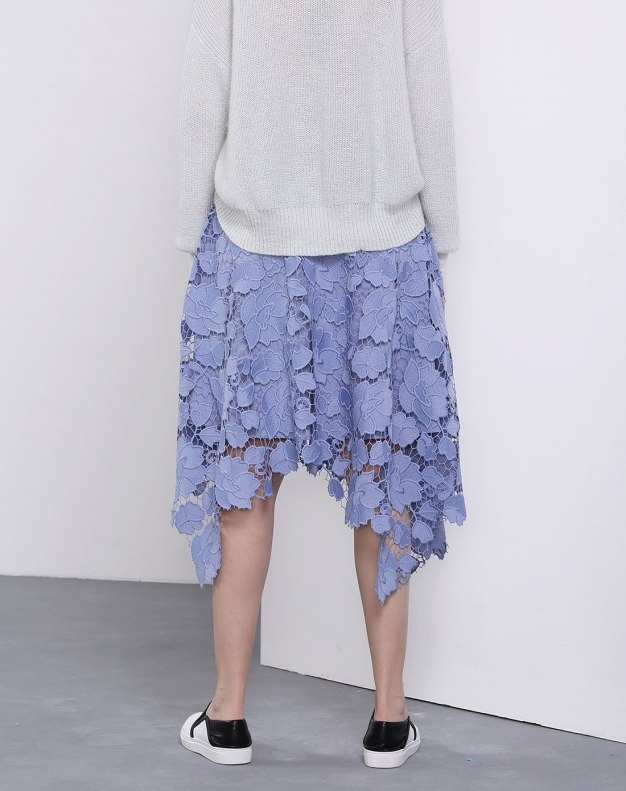 3/4 Length Women's Asymmetric Skirt