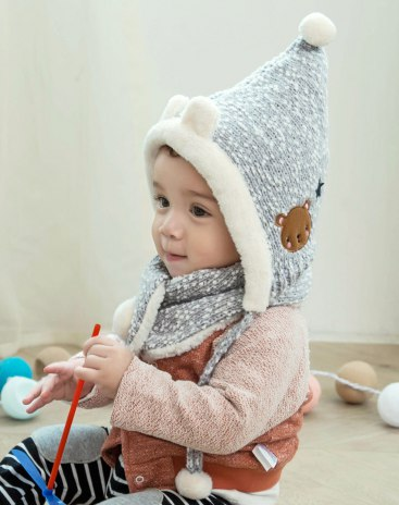 Gray Girls' Clothing Accessories