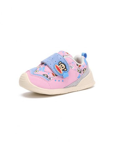 Round Head Flat Girls' Athletic Shoes