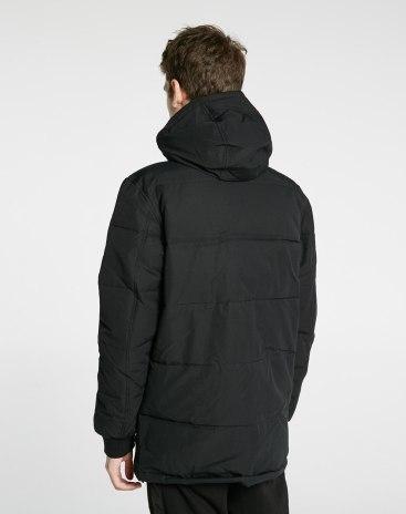 Black Hoodie Standard Warm Men's Sweater