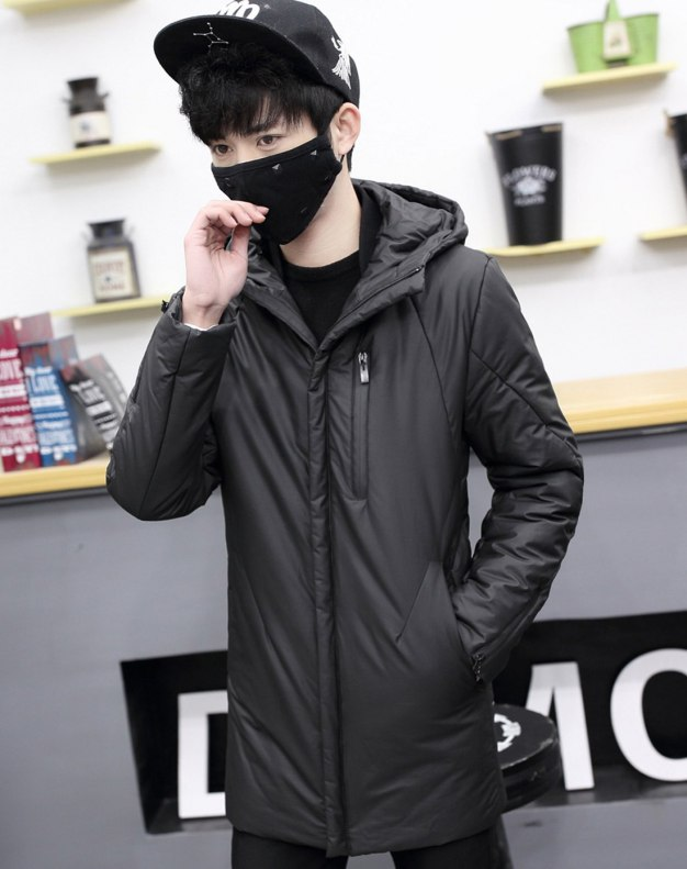 Black Standard Men's Outerwear