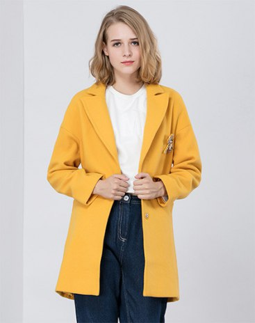 Yellow Women's Windbreaker