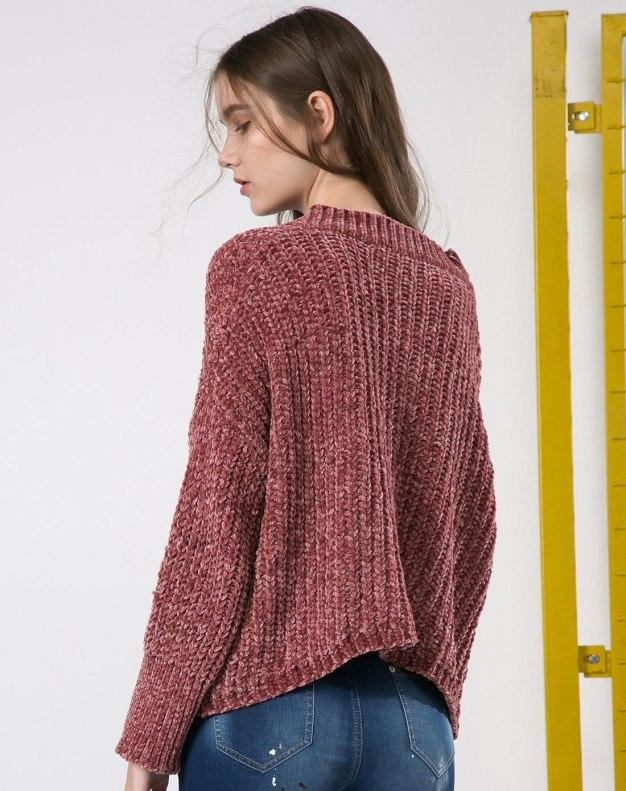 Others1 긴소매 표준 여성 스웨터