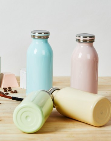Beige 301-400mL Vacuum Flasks & Thermoses
