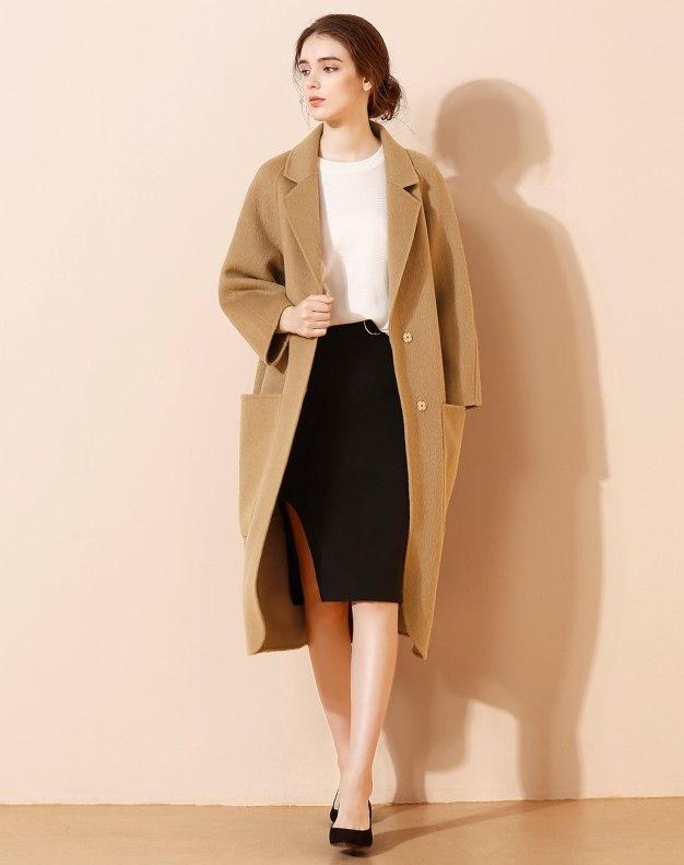 Camel Women's Coat
