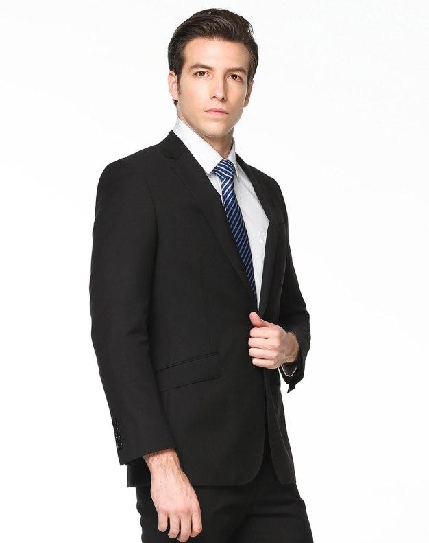 Lapel Long Sleeve Standard Men's Suit