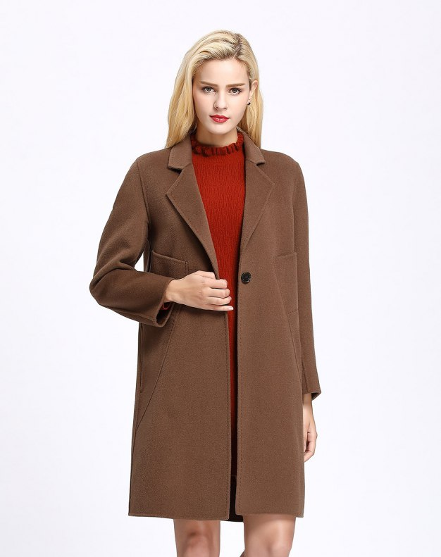 Coffee Women's Coat