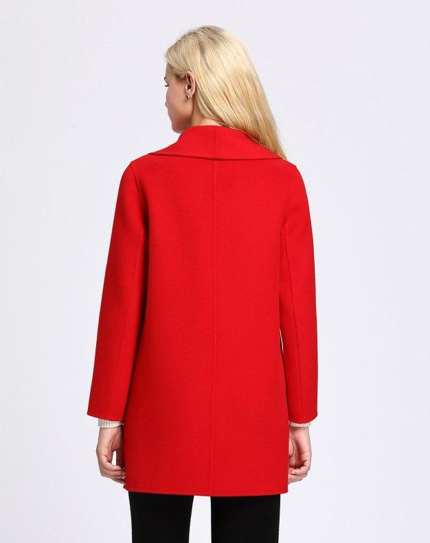 Red Women's Coat